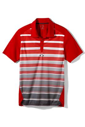Show details for Oakley Fade Polo Shirt - Red Line