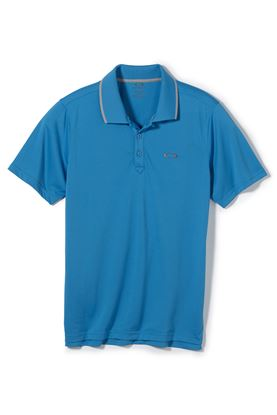 Show details for Oakley Standard Polo Shirt - Pacific Blue