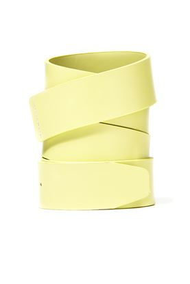 Show details for Oakley Leather Belt Strap - Pastel Yellow