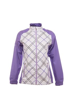 Show details for Ping Collection Cupcake Waterproof Jacket - White/Violet Multi
