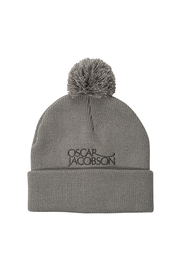 Picture of Oscar Jacobson ZNS Bobble Hat - Grey