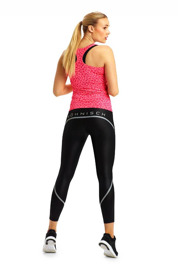 Picture of Rohnisch Fitness Ebru 7/8 Tights - Black