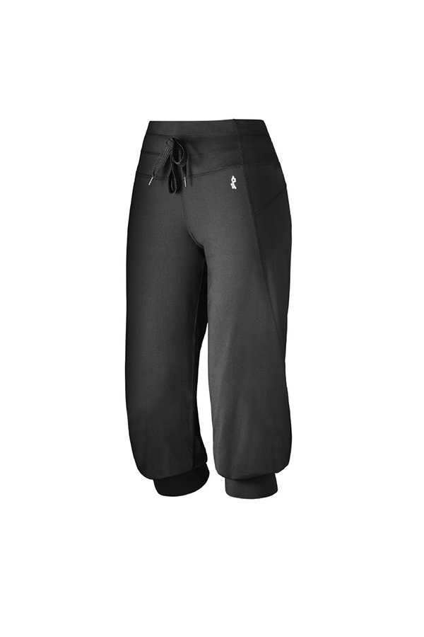 Picture of Rohnisch Fitness Sofie Short Cuff Pants - Black