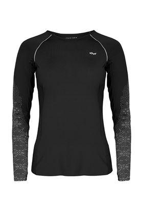 Show details for Rohnisch Cia Run Long Sleeve Top - Black