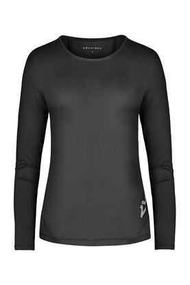 Show details for Rohnisch Genna Long Sleeve Top - Black