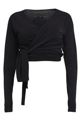 Show details for Rohnisch Li Wrap Top - Black