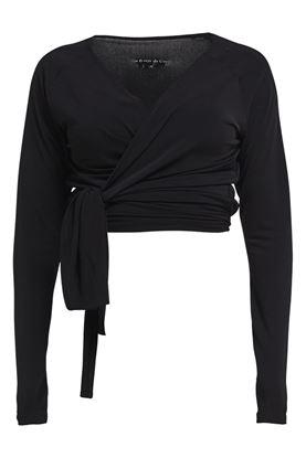 Show details for Rohnisch Li Wrap Top - Black