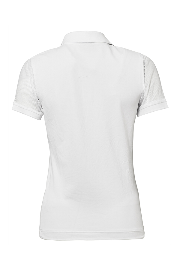 Picture of Daily Sports Tavia Cap Sleeve Polo Shirt - White