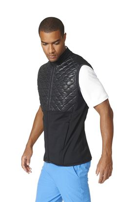 Show details for adidas Climaheat Prime Fill Quilted Vest/Gilet - Black