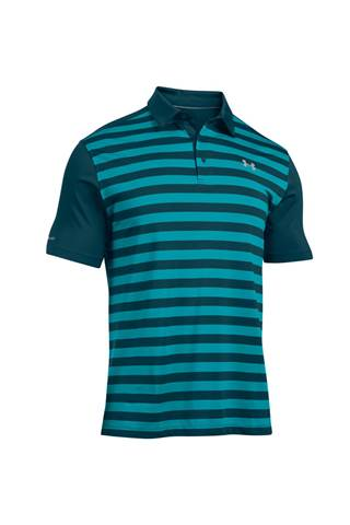Picture of Under Armour UA Coldblack Tempo Polo Shirt - Pacific 478