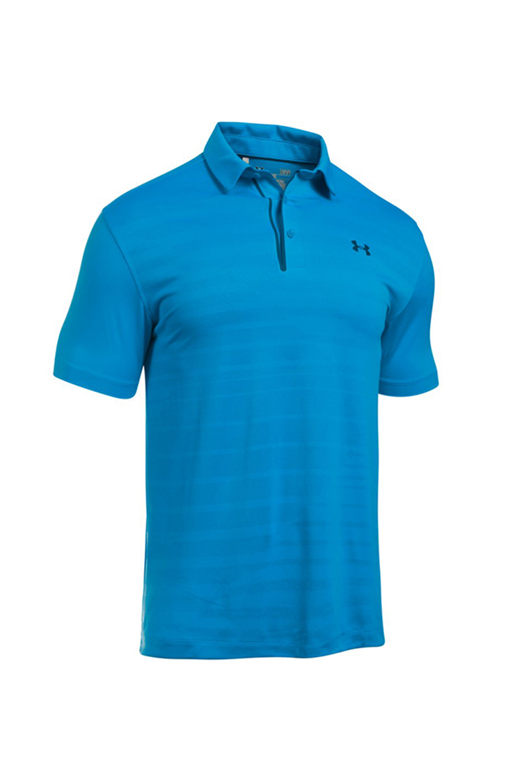 Picture of Under Armour UA Coolswitch Jacquard Polo Shirt - Brilliant Blue 787