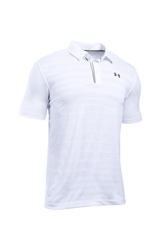 Picture of Under Armour zns UA Coolswitch Jacquard Polo Shirt - White 100