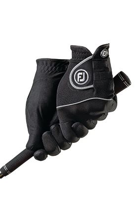 Show details for FootJoy Ladies Rain Grip Pair Gloves - Black