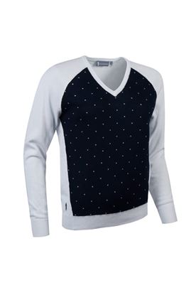 Show details for Glenmuir zns Hilary Sweater - White/Navy