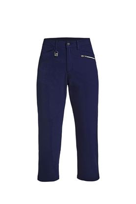 Show details for Rohnisch Comfort Stretch Capri - Indigo Night