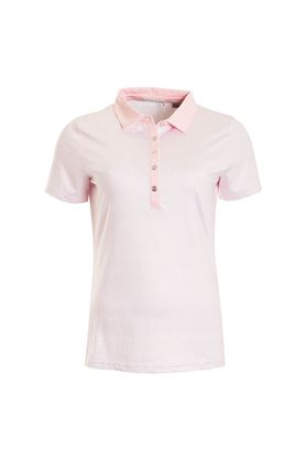 Show details for Green Lamb Patrice Printed Polo Shirt - Pink