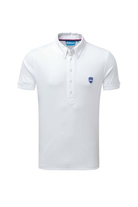 Show details for Bunker Mentality zns  CMax Frank Polo Shirt - White