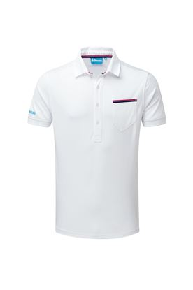 Show details for Bunker Mentality CMax Jack Polo Shirt - White