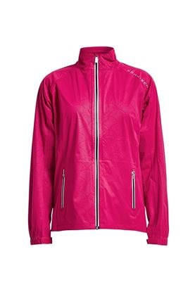 Show details for Rohnisch Rain Jacket - Hibiscus Hazy Arc
