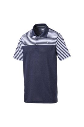 Show details for Puma Golf Clubhouse Polo Shirt - Peacoat