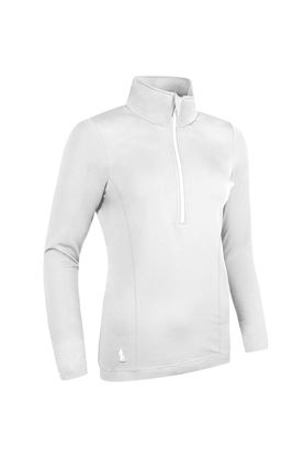 Show details for Glenmuir Carina Midlayer Top - White