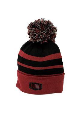 Show details for Puma Golf Pom Beanie - Pomegranate
