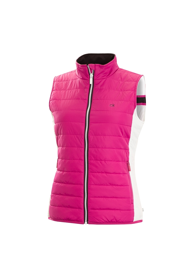 Picture of Calvin Klein ZNS CK Shell Padded Gilet - Foxglove