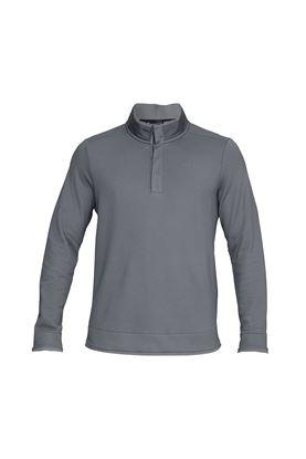 Show details for Under Armour UA Storm Sweater Fleece Snap Mock - Grey 513