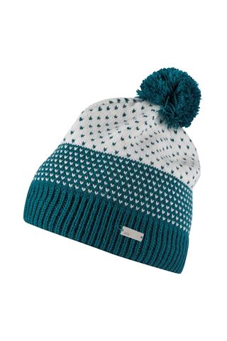 Picture of adidas zns Fashion Lined Pom Beanie- Mystery Green
