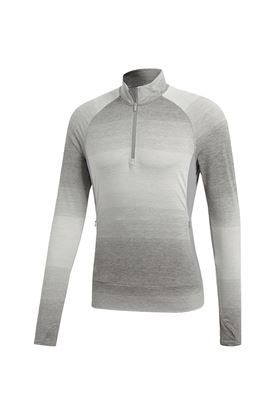Show details for adidas Range Wear 1/2 Zip Pullover - Grey Three