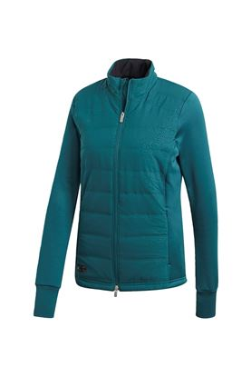Show details for adidas Quilted Insulated Jacket - Mystery Green