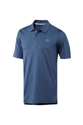 Show details for adidas Ultimate 365 Solid Polo Shirt - Tech ink