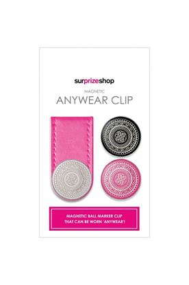 Show details for Surprizeshop Anywear Ball Marker Clip - Pink