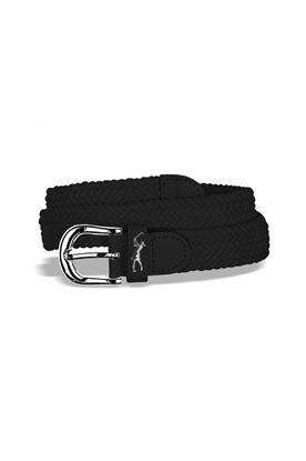 Show details for Surprizeshop  Woven Belt - Black
