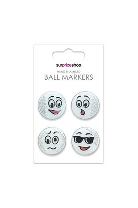 Show details for Surprizeshop Ball Markers - It's a Funny Old Game Set