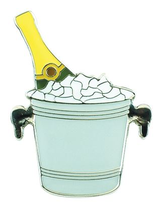 Show details for Surprizeshop Individual Ball Marker - Champagne Bucket