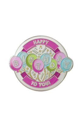 Show details for Surprizeshop Individual Ball Marker - Happy Birthday