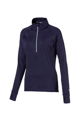 Show details for Puma Golf Women's Rotation 1/4 Zip -  Peacoat