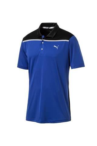 Picture of Puma Golf Men's Bonded Colourblock Polo Shirt - Surf the Web