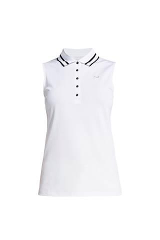 Picture of Rohnisch Pim Sleeveless Polo Shirt - White