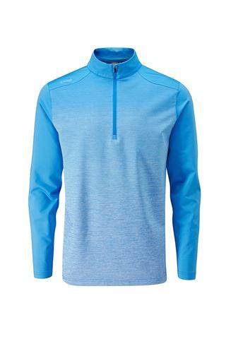 Picture of Ping zns  Men's Fracture 1/4 Zip Sweater - Sky Azure Multi / Sky Azure