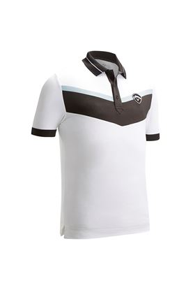 Show details for Callaway Men's X 3 Colour Blocked Polo Shirt - Bright White