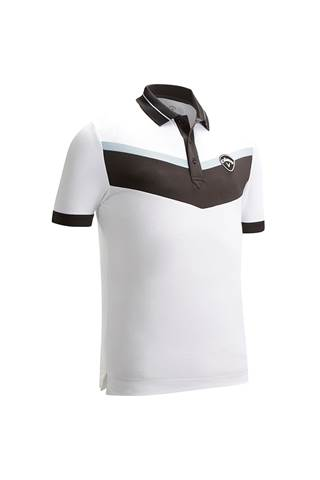 Picture of Callaway Men's X 3 Colour Blocked Polo Shirt - Bright White