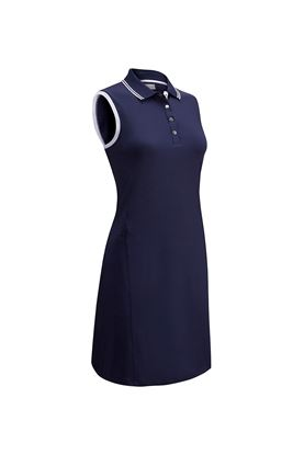 Show details for Callaway Golf Ladies Golf Dress with Ribbed Tipping - Navy