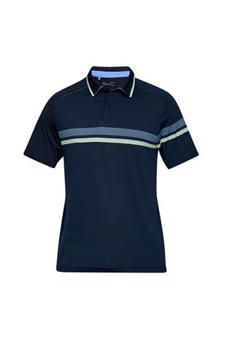 Picture of Under Armour UA Men's Microthread Drive Polo Shirt - Navy 408