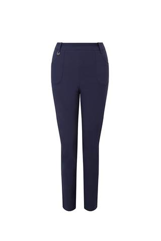 Picture of Callaway Ladies Chev Pull On Trousers - Peacoat