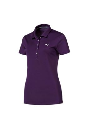 Show details for Puma Golf Ladies Pounce Polo Shirt - Majesty