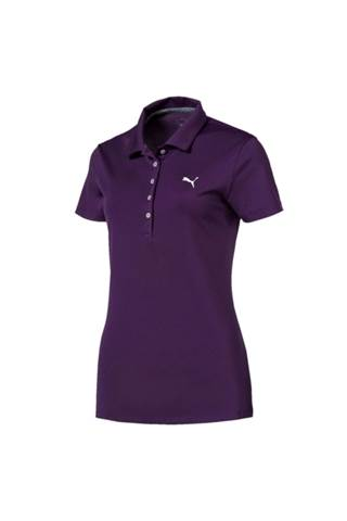 Picture of Puma Golf Ladies Pounce Polo Shirt - Majesty