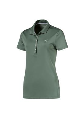 Show details for Puma Golf Ladies Pounce Polo Shirt - Laurel Wreath