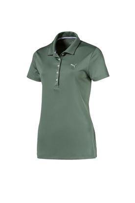 Show details for Puma Golf Ladies Pounce Polo Shirt - Laurel Wreath